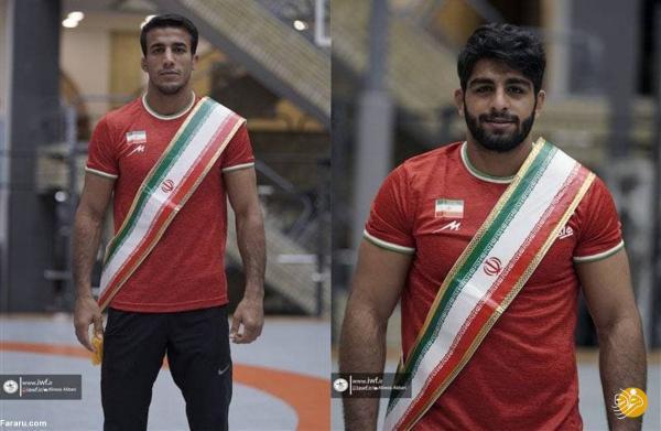کشتی ایران در المپیک؛ رقبای گرایی و ساروی مشخص شدند