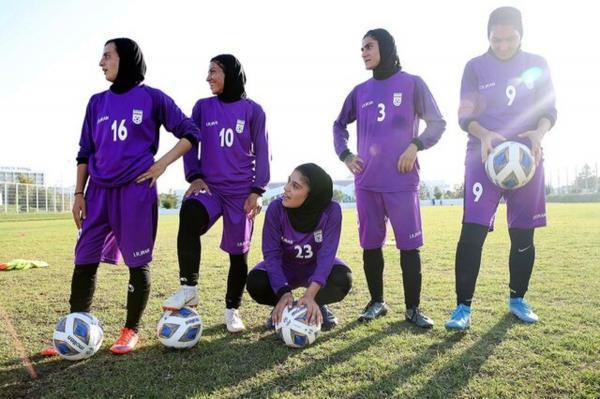 پیروزی پرگل زنان فوتبال ایران مقابل بنگلادش